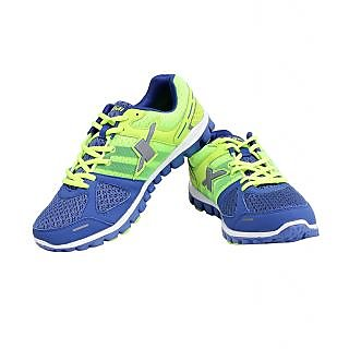 Sparx Mens Blue Lace-up Running Shoes