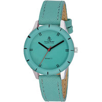 Ferry Rozer Green Dial Round Shape Analog Watch For Women (FR5009)