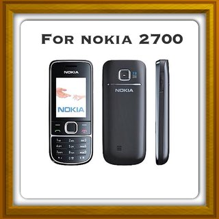New Full Housing Body Panel For Nokia 2700 - Black.