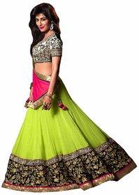 Sunsilk Designer Green Bollywood Lehanga