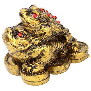 Feng Shui Double Money Frog