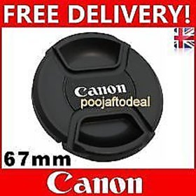 67MM SAFTEY LENS FILTER CAP FOR canon 67MM LENS MOUNT