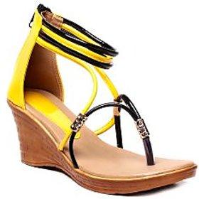Nell Ladies Yellow Footwear VT-214-YELLOW-01