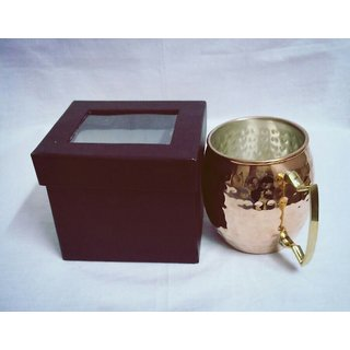 Exclusively designed and polished Copper Mugs