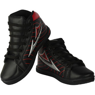 Oricum Footwear Black-168 Men/Boys Sports Shoes