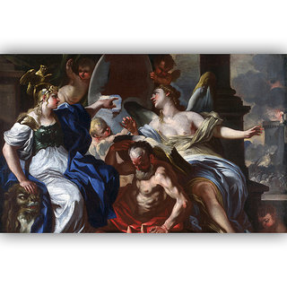 Vitalwalls Allegory Of Louis Cvas Art Print(Other-111-30)