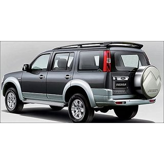 Ford Endeavour Car Body Cover In Silver Matty Cloth
