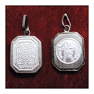 Mahamrityunjay Silver Pendant By Pandit NM Shrimali
