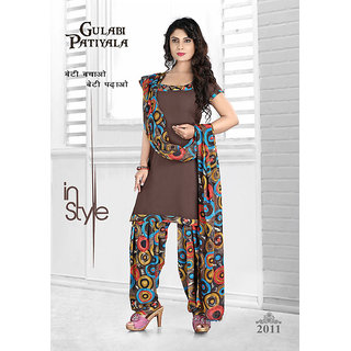 03f6161d34 Buy Indian Rag Brown Pure Leon Printed Suit Online @ ₹510 from ...