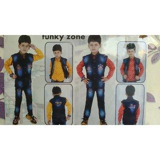 BABA SUIT 3PC kids wear funky zone