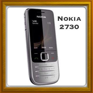 New Full Housing Body Panel For Nokia 2730  - Black.