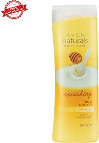 Naturals Milk  Honey Shower Gel