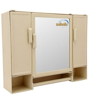 Zahab Bathroom Cabinet Three Door Pulse(18X14)
