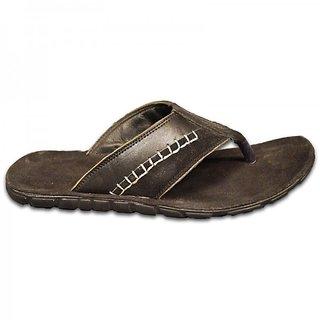 Austrich Black Leather Slipper