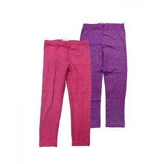 Juscubs Leggings Fushia Glitter-Purple Glitter