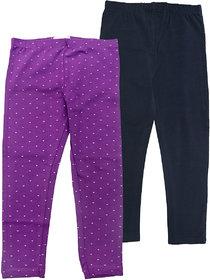 Juscubs Leggings Purple-Navy
