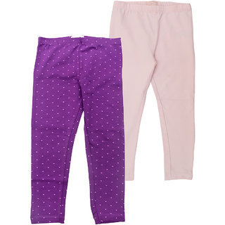 Juscubs Leggings Purple-Baby Pink