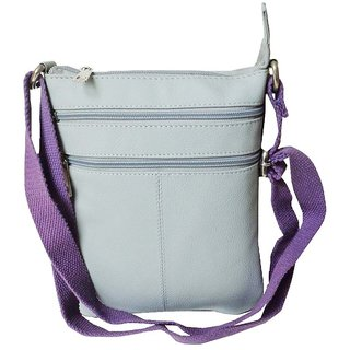 cfdfb4cdf847 Style 98 Womens Sling Bag HandBag Messenger Bags Satchel Bag - Light Grey  3005IT