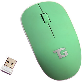 Tacgears TG-WLm-8001 three button Wireless mouse (Green)