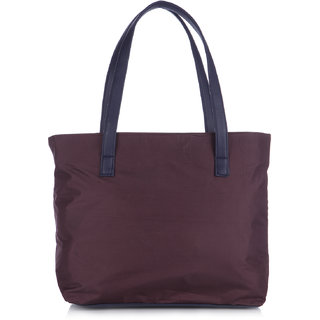 Fostelo Susanne Nylon Medium Purple Handbag