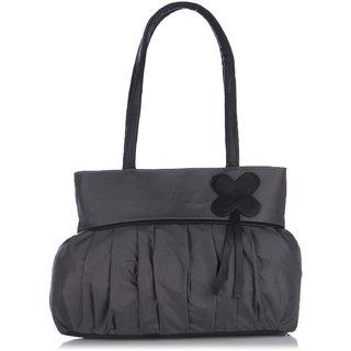 Fostelo Daffodil Flower Grey Handbag