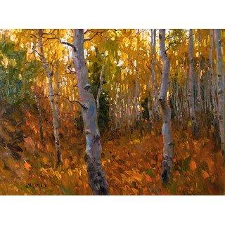 Vitalwalls Landscape Painting Canvas Art Print (Landscape-500-30Cm)