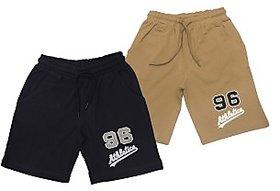 Juscubs 96 Shorts Black-Beige