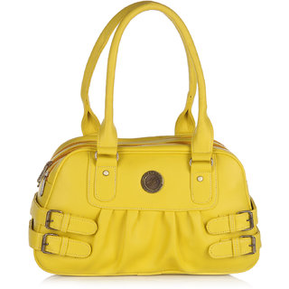 Fostelo Carryall Yellow Handbag