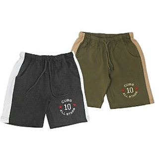 Juscubs All Stars Shorts Charcoal-Olivegreen