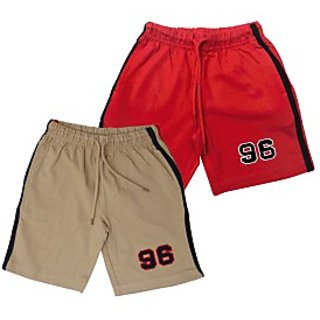Juscubs 96 Shorts Beige-Red