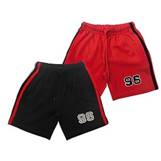 Juscubs 96 Shorts Black-Red