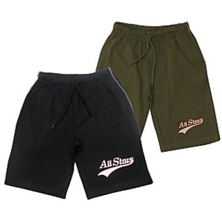 Juscubs All Stars Shorts Black-Olivegreen
