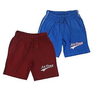 Juscubs All Stars Shorts Maroon-Royalblue