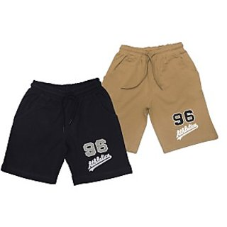 Juscubs 96 Shorts Black-Beige