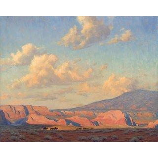 Vitalwalls Landscape Painting Canvas Art Print (Landscape-545-30Cm)