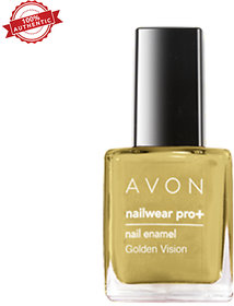 Avon Color Nailwear Pro Plus - Golden Vision