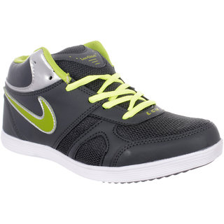 Grey Green Ankle Shoe