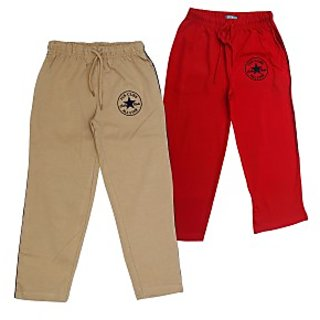 Juscubs All Stars Trackpants Beige-Red