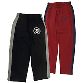 Juscubs Champion Of All Sports Trackpants Black-Marron