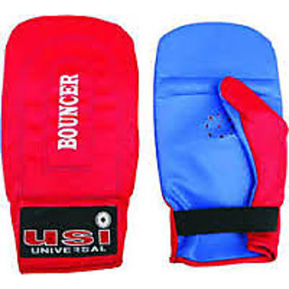 usi bouncer boxing gloves red Color