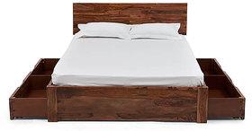 Ohio Storage Bed (Teak Finish)King Size (3)Furnishwood 00133990