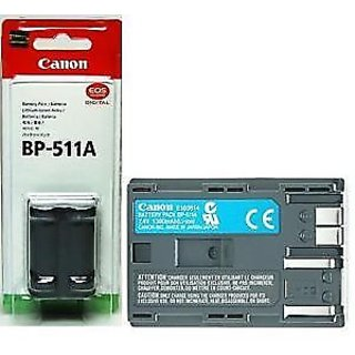 Canon BP-511A Digital Camera Battery BP511A+ Warranty