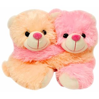 Cute Teddy Bear Couple - 11 Inch