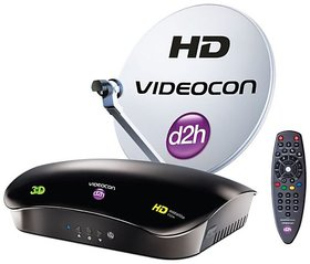 Videocon D2H (HD +recorder) connection with one month free