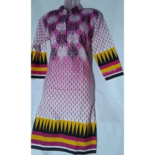 LADIES COTTON KURTI LARGE SIZE 38 CM