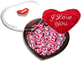 Naughty Love-Nutty Valentine Hearts Chocolates