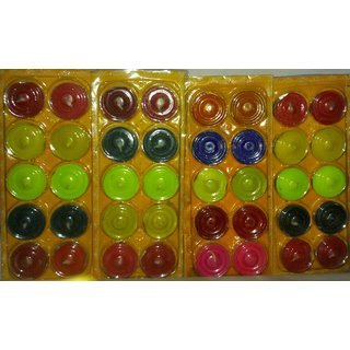 Shri Balaji Store Light Weight Colour Full Wax Candles