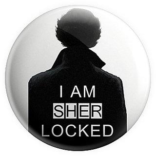 MC SID RAZZ Sherlock I am Sherlocked Magnet