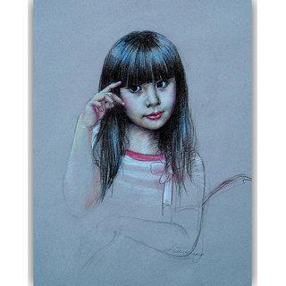 Vitalwalls - Portrait Painting Canvas Art Print (Oriental-099-45)