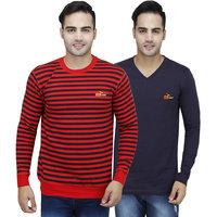 Pro Lapes Stripped Sweatshirt & V-Neck T-Shirt Combo Pack